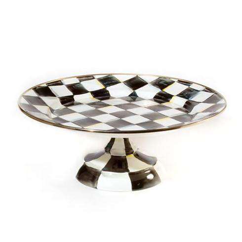 MacKenzie-Childs   Courtly Check Enamel Small Pedestal $74.00